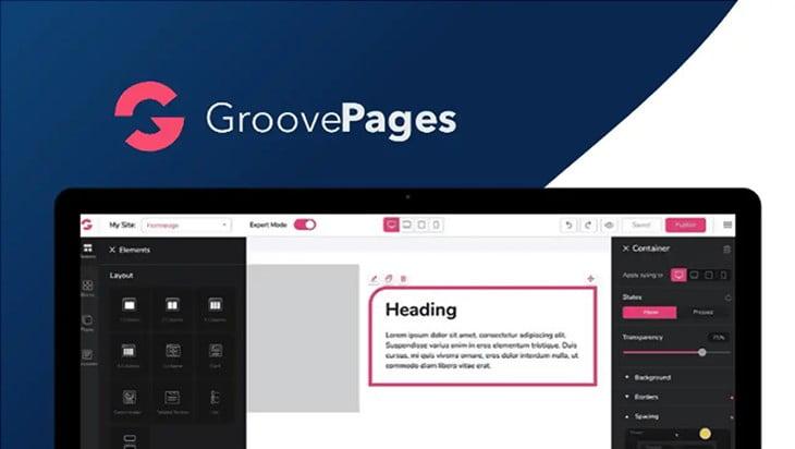 groovefunnels page builder
