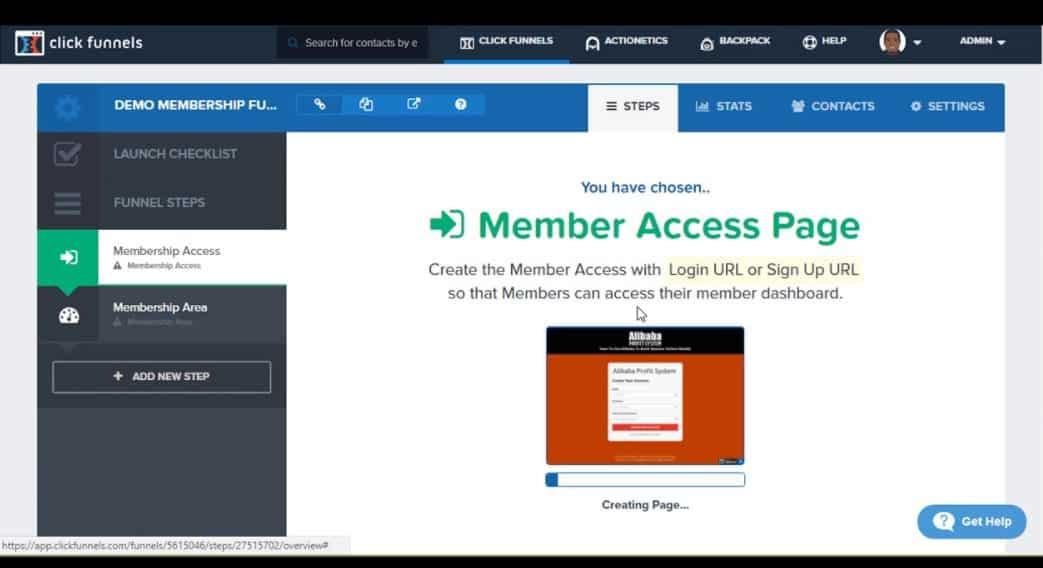 clickfunnels membership